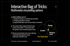 Interactive Multimedia Bag of Tricks – USATODAY