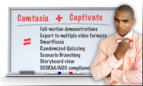 Captivate vs. Camtasia: Blend for Best of Both Worlds