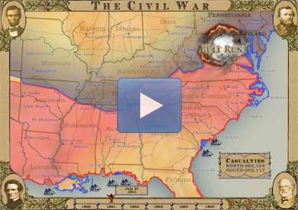 The Civil War in Four Minutes