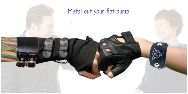 Slide makeover: how to metal out your fist bump