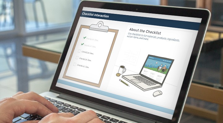 Free Checklist Interaction for Articulate Storyline